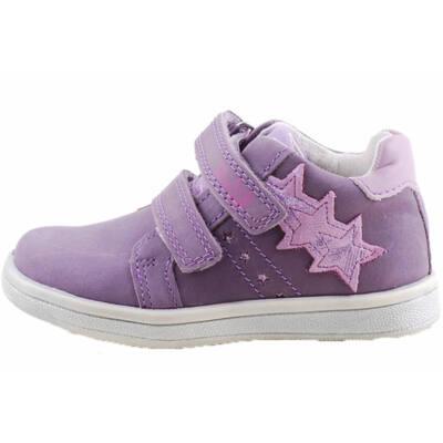 Lila, csillogó csillagos, Ponte 20 supinált cipő