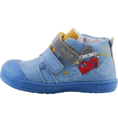 Kék, tűzoltóautós, Ponte 20 supinált cipő