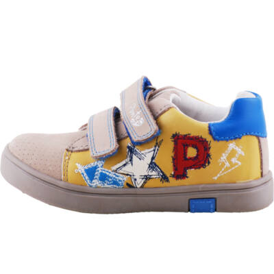 Mustár, csillagos, Ponte 20 supinált cipő