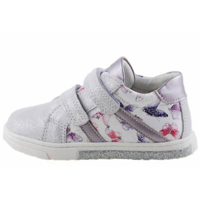 Ezüst, pillangós, lányka, Primigi cipő