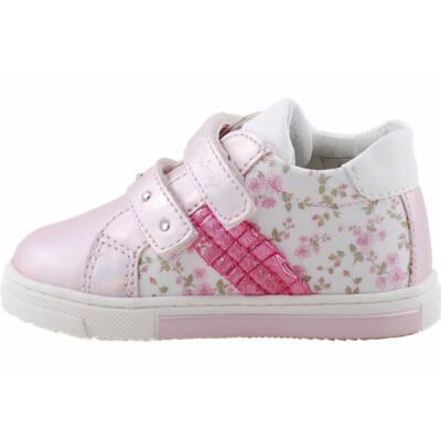 Rózsaszín, virágos, flitteres, Primigi cipő
