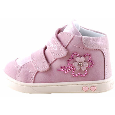 Rózsaszín, flitteres, virágos, Primigi cipő