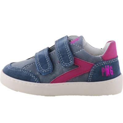 Kék, pink, lányka, Primigi cipő