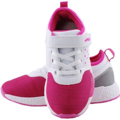 Pink-fehér, gumifűzős, tépőzáras, Primigi edzőcipő