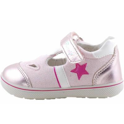 Csillogó rózsaszín, csillagos, Primigi kislány szandálcipő