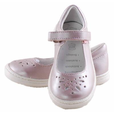 Csillogó rózsaszín, Primigi lányka, pántos balerina