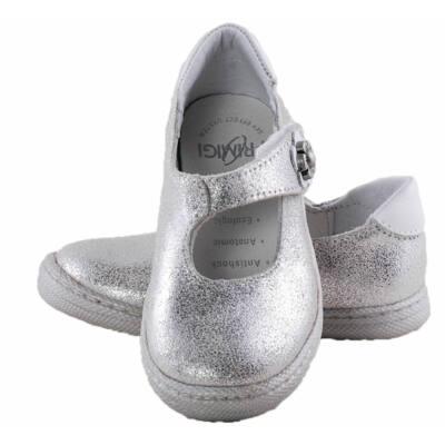 50f7314dbe Ezüst, fehér virágos, Primigi pántos balerina - Levendula gyerekcipő ...