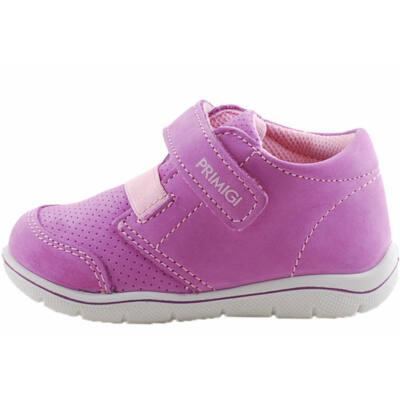 Rózsaszín, gumifűzős, tépőzáras, extra puha talpú, Primigi cipő
