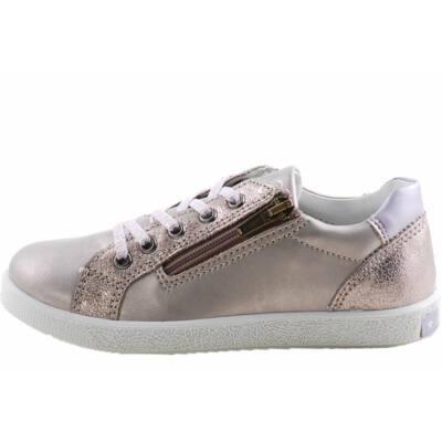 Bronz, fűzős, cipzáras, Primigi cipő