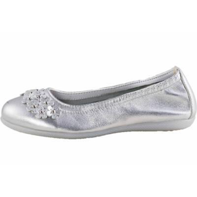Primigi ezüst kisvirágos balerina