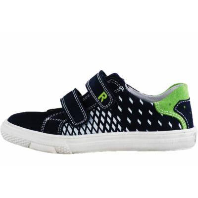Sötétkék-zöld Richter cipő