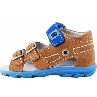 Barna-kék Richter szandál - Levendula gyerekcipő 856a68358b