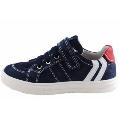 Kék-szürke-piros Richter fiú cipő