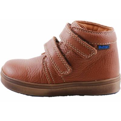 Barna, 2 tépőzáras, Richter cipő