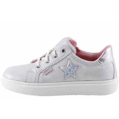 Ezüst, csillagos, lányka, Richter cipő