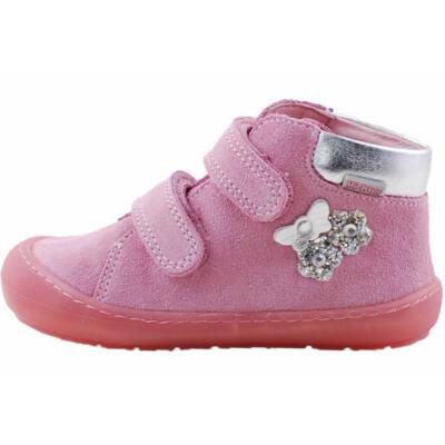 Rózsaszín, pillangós, extra puha talpú, Richter cipő