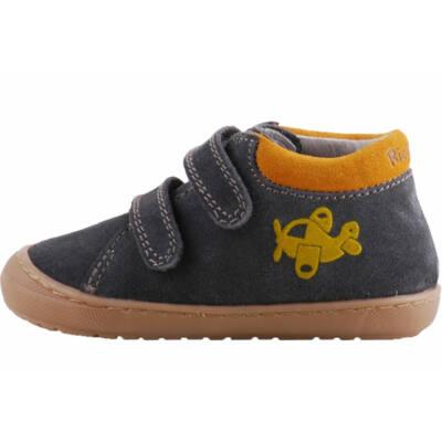 Szürke-mustár, repülős, extra puha Richter cipő