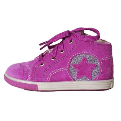 Richter lila csillagos fűzős cipő