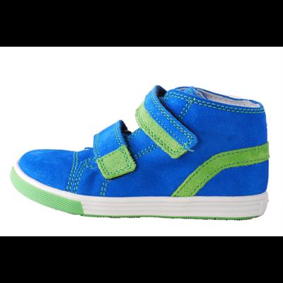 Richter kék-zöld díszítésű tépőzáras átmeneti cipő - Levendula ... ef317c723d