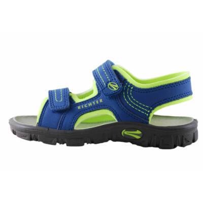 Richter kék-neonzöld sportos szandál - Levendula gyerekcipő c3624dd741