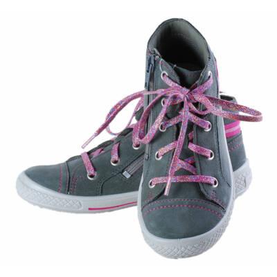 Szürke-rózsaszín fűzős, cipzáras, Superfit cipő
