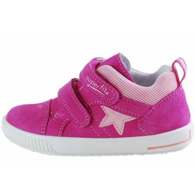Pink, rózsaszín csillagos, Superfit, kislány cipő
