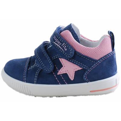 Kék, rózsaszín csillagos, Superfit cipő