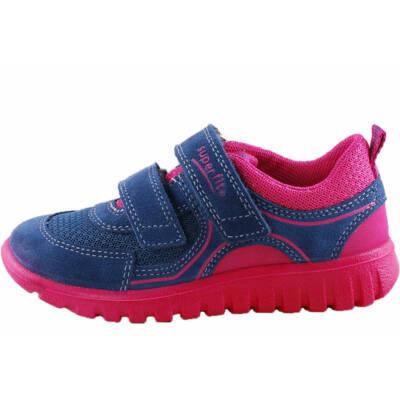 Sötétkék-pink, extra puha, Superfit edzőcipő
