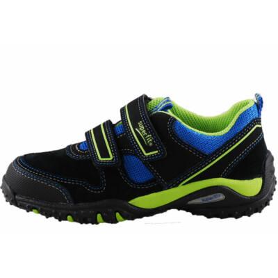 Fekete, neon-kék Superfit edzőcipő