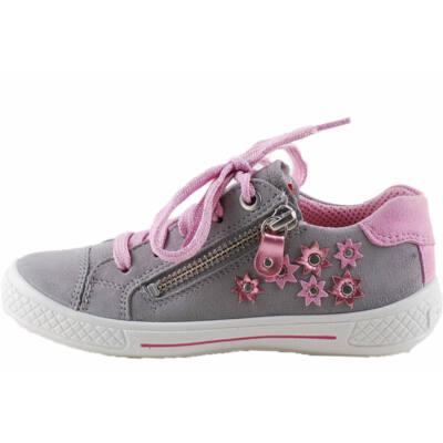 Szürke-rózsaszín, virágos, Superfit cipő