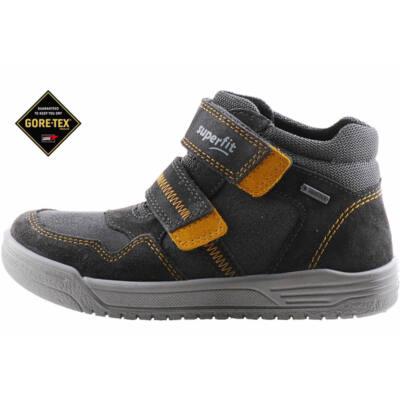 Szürke-mustár, vízálló, Gore-Tex, magasszárú, Superfit cipő