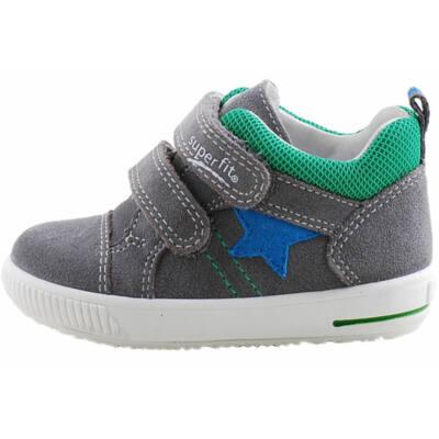 Szürke-zöld, kék csillagos, Superfit cipő