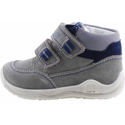 Szürke, kék díszítésű, Superfit cipő