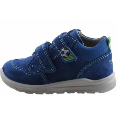 Sötétkék-zöld, focilabdás, Superfit cipő