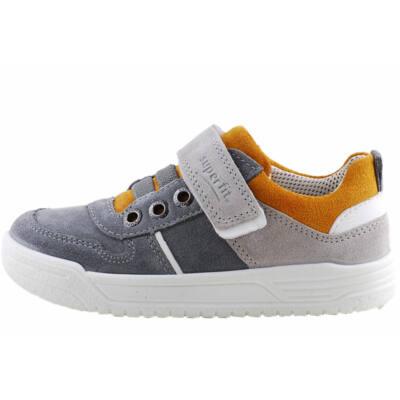 Szürke-mustár, gumifűzős, tépőzáras, Superfit cipő