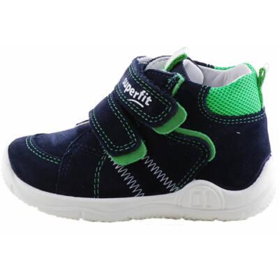 Fekete-zöld, átmeneti Superfit cipő