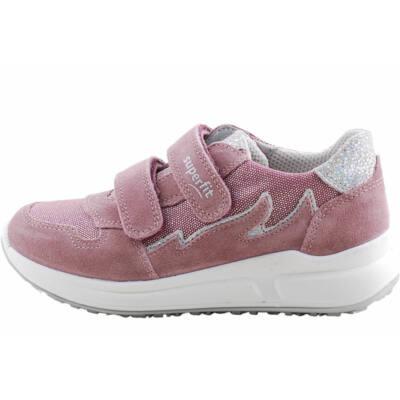 Mályva-lila-ezüst Superfit cipő