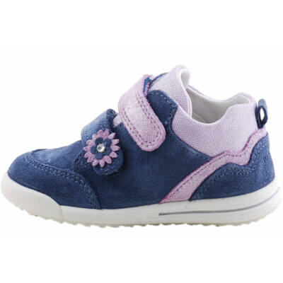 Kék-lila, kisvirágos, Superfit cipő