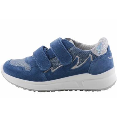 Kék-ezüst, lányka, Superfit cipő
