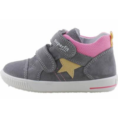 Szürke, rózsaszín, sárga csillagos, Superfit cipő