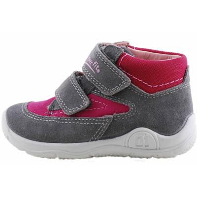 Szürke-bordó, hajlékony talpú, Superfit cipő