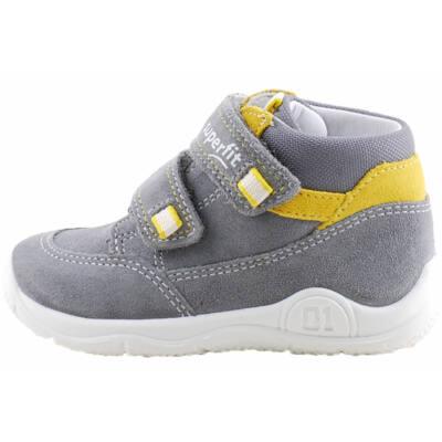 Szürke-sárga Superfit cipő