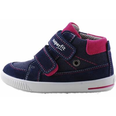 Sötétkék-sötétpink, lányka, Superfit cipő