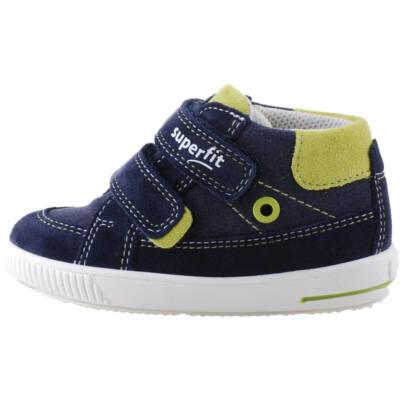 Sötétkék-kivizöld, kisfiú, Superfit cipő