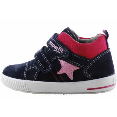 Sötétkék-bordó, rózsaszín csillagos, Superfit cipő