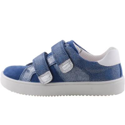 Kék, csillogós, lányka, Superfit cipő