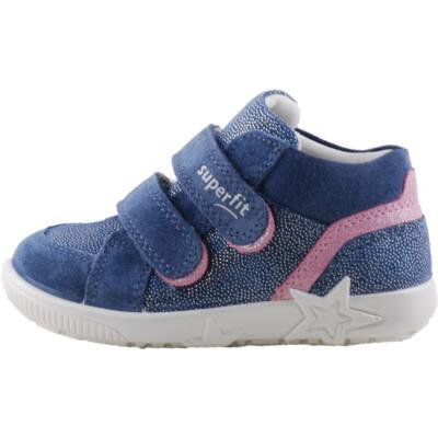 Kék-rózsaszín, csillogós, lányka, Superfit cipő