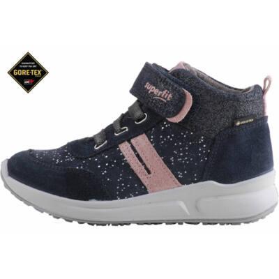 Szürke-rózsaszín, Gore-Tex, vízálló, Superfit gumifűzős-tápőzáras cipő