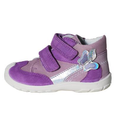 Superfit lila pillangós átmeneti cipő