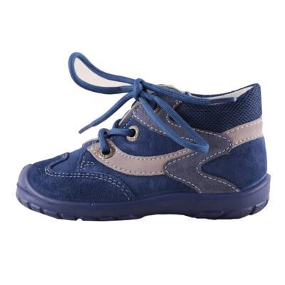 Superfit kék-szürke, kék fűzős átmeneti cipő